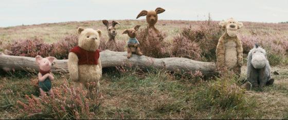 Piglet, Pooh, Rabbit, Roo, Kanga, Tigger and Eeyore