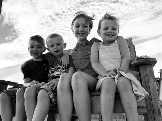 The kids and cousins