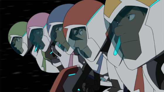 Voltron Paladins in pursuit